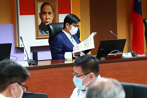 配合中央防疫「秋冬專案」 高雄市長陳其邁:持續超前部署