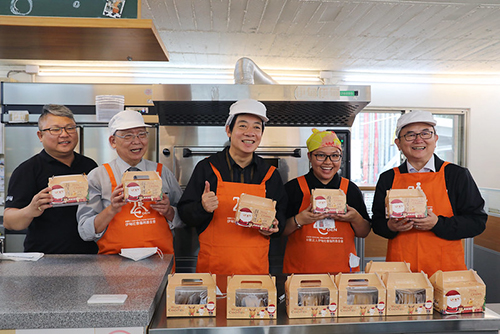 參訪台東嗎哪庇護工場 副總統賴清德籲國人以行動支持