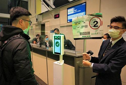 長榮航空啟用人臉辨識系統加快登機速度