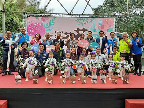 全國最美!新竹市2020茶花季「花漾茶花」12日好運開跑