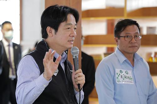參訪土庫庄役場 副總統賴清德肯定土庫國際小鎮計畫