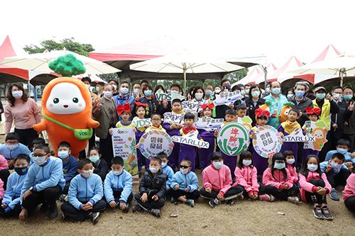 星宇航空 x VDS 企業聯合贊助雲林縣國小在地優質蔬果汁