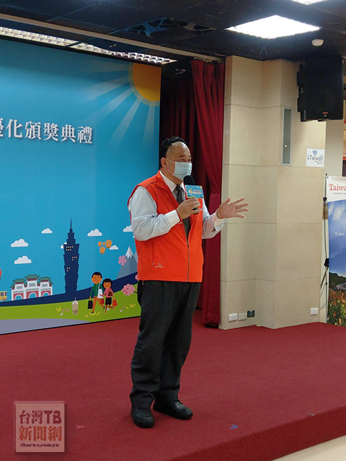 台灣觀巴協會理事長張龍麟