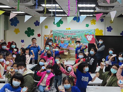 新北市教育局與台灣假日學校協進會合作辦理「環保馬賽克拼貼杯墊DIY」活動