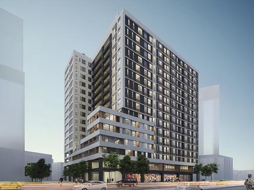 「新北市中和區警消社會住宅」3D模擬圖