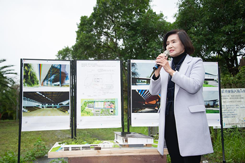 宜蘭縣積極爭取前瞻興建溪南地區全民運動館