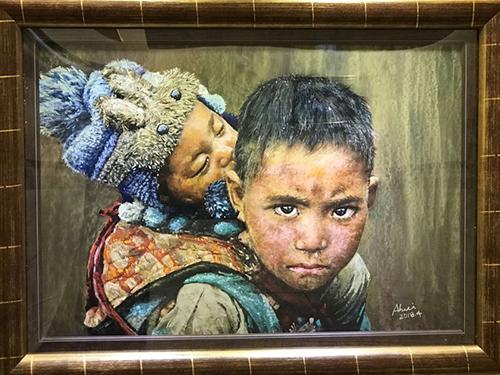 彩繪探索 破繭而出 「呂瓊慧粉彩油畫個展」國父紀念館首登場