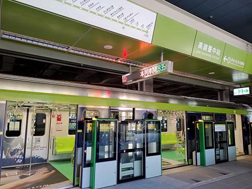 中捷綠線升級軸心陸續完成安裝 14日首發上線測試