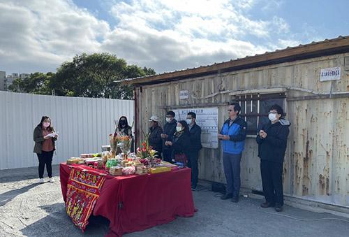 新北林口公車轉運站動工 預計5月完工啟用