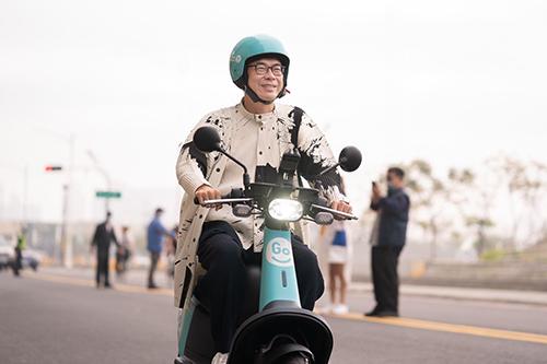 高雄共享電動機車再添生力軍!市長陳其邁歡迎GoShare提供市民更便利服務