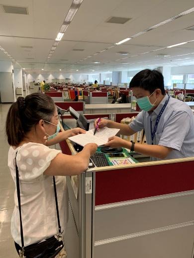 中市府升級防疫 進入市府採用實名登記APP