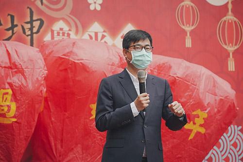高雄過好年活動起跑 市長陳其邁:落實防疫 安心好過年