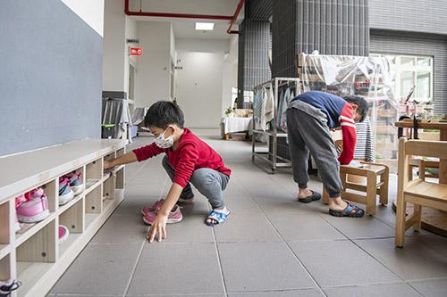 全民防疫!新竹市長林智堅視察幼兒園防疫