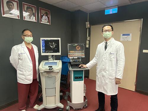 衛福部基隆醫院高清超音波及光學斷層掃描新利器 90分鐘打通心臟血管