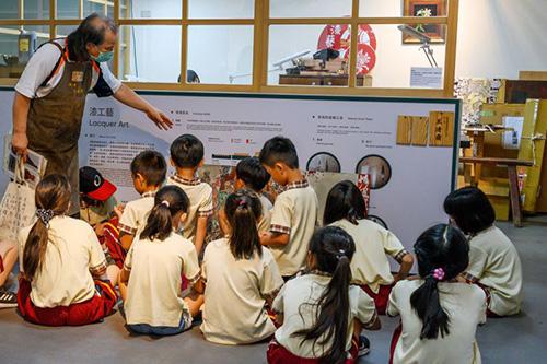傳統工藝接班人2月15日起 宜蘭傳藝園區「傳藝工坊」再現精湛技藝