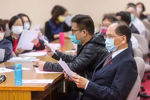 立法院長游錫堃:期盼未來台灣詩詞可豐富台灣主體性