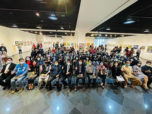 集結逾70件動人畫作 第36屆台中市大台中美術協會美展開展