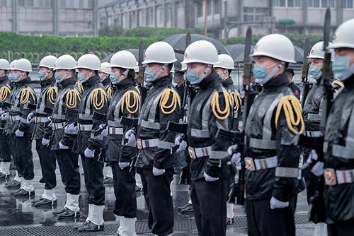 視導基隆地區駐軍 總統蔡英文期勉持續提升三軍聯合作戰能量