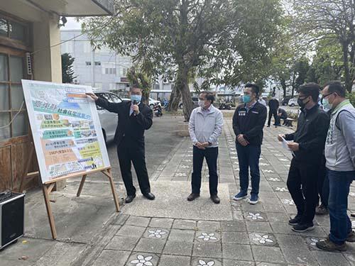 中央啟動台東二階社宅興建計畫 內政部長徐國勇率員視察