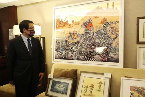 黃偉哲:春天最美麗饗宴「2021台南藝博會」1800件作品絕對驚艷