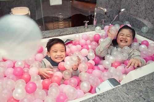 台北喜來登大飯店推出「寶貝喜樂園」兒童節住房專案