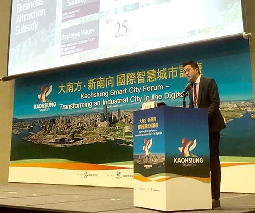 高雄首任全球智慧城市聯盟策略委員 廖泰翔:發展高雄5G智慧城