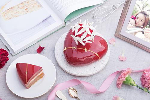 礁溪寒沐酒店「甜馨愛戀」母親節限定法式慕斯蛋糕