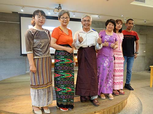 高苑科大認識新住民的娘家 體驗緬甸新年習俗