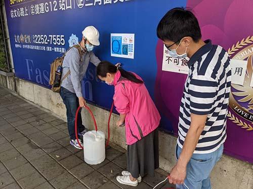 台中市第1部小型移動式淨水設備部署完成