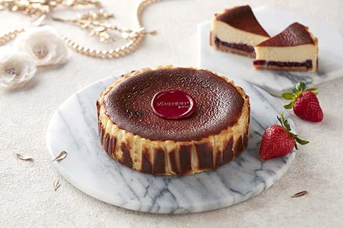 台北寒舍艾美酒店 巧克光廊推出母親節限定乳酪蛋糕