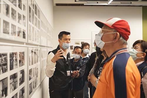 國家攝影文化中心台北館邀請里長共同體驗攝影及古蹟之美