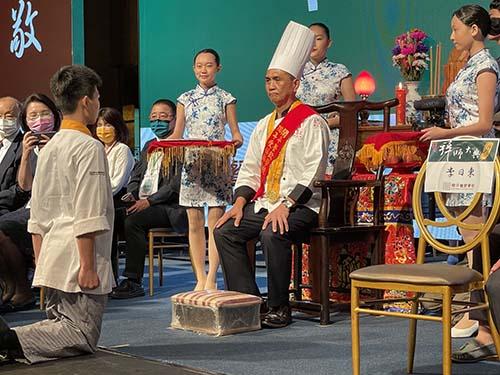 國內外重量級廚師齊聚 證開平餐飲第30屆拜師大典