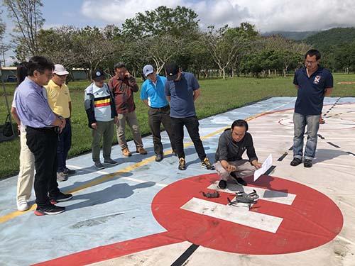 與智慧農業同行 花蓮縣農業處培訓無人機種子學員