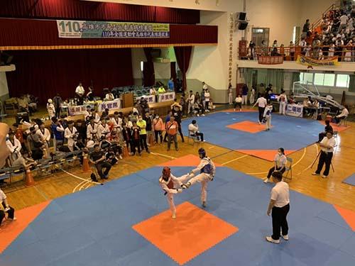 市長盃跆拳道錦標賽 成績之外重視反毒宣導