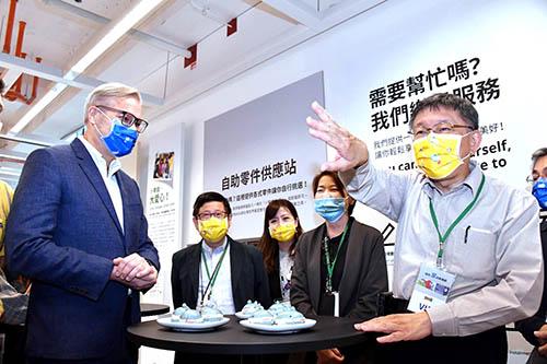出席IKEA內湖店開幕 台北市長柯文哲:盼能與台北市社宅合作