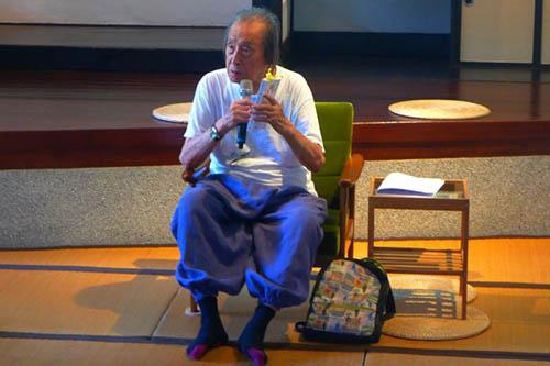 詩人管管辭世 文化部長李永得表達哀悼與追思