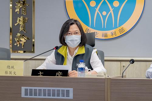 防疫關鍵時刻 總統提醒國人注意疫情變化
