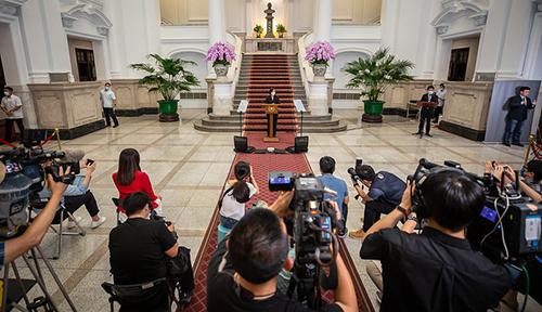 召開國安高層會議 總統蔡英文:團結防疫守台灣