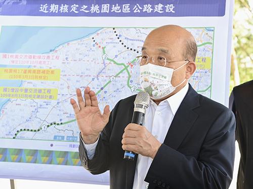 行政院長蘇貞昌:國道3號高原交流道29日通車