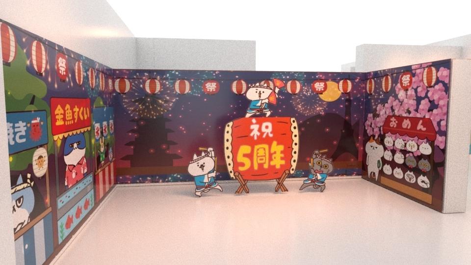 貓奴必看!日本貼圖人氣王「反應過激的貓」 【五周年期間限定店】強勢登台!免費入場