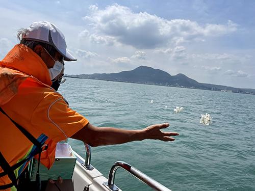 新北環保葬10年成長7倍 110年聯合海葬今溫暖啟航